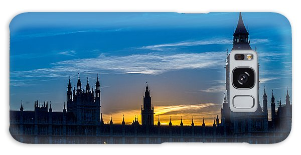 Westminster Parlament In London Golden Hour Galaxy Case