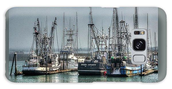 Westport Fishing Fleet - Washington Coast Galaxy Case by Greg Sigrist