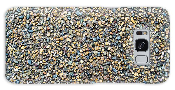 Wet Beach Stones Galaxy Case