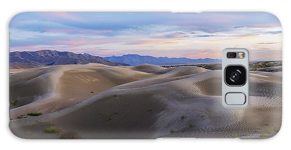 Sand Dunes Galaxy Case - Wet Dunes by Chad Dutson