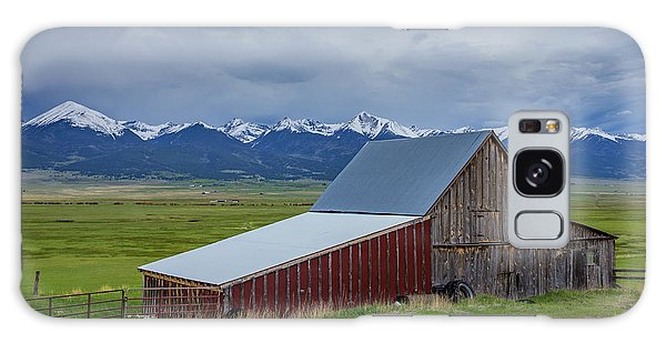Sangre De Cristo Galaxy S8 Case - Wet Mountain Valley Barn by Bridget Calip