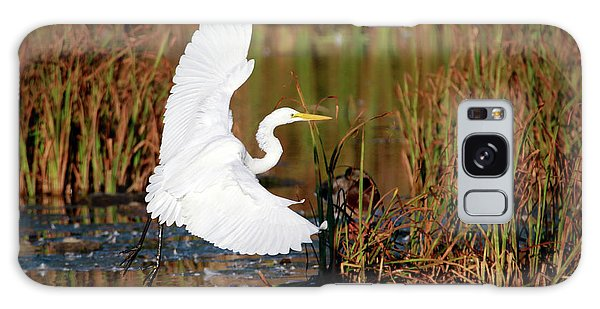 Wetland Landing Galaxy Case by Ray Congrove