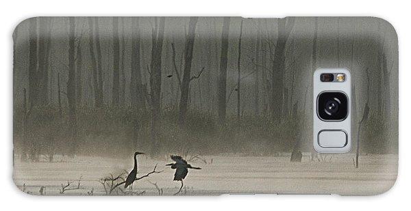 Wetlands Morning Galaxy Case