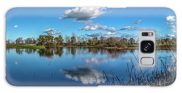 Wetlands Panorama  Galaxy Case