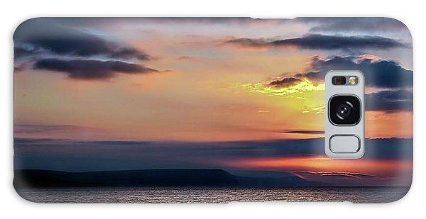 Weymouth Esplanade Sunrise Galaxy Case