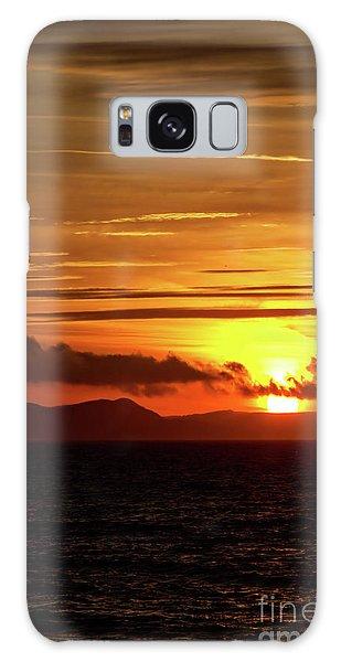 Weymouth Sunrise Galaxy Case by Stephen Melia