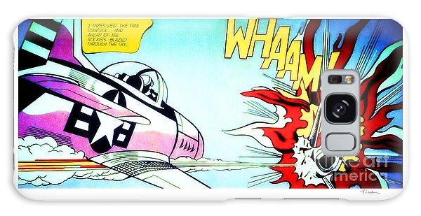 Whaam - Roy Lichtenstein  Galaxy Case