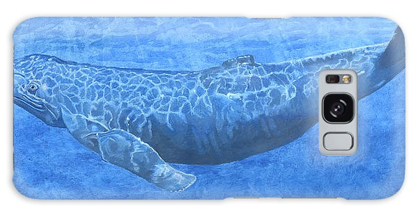 Whale In Surface Light Galaxy Case