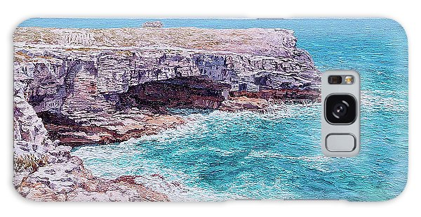 Eleuthera Art Galaxy Case - Whale Point Cliffs by Eddie Minnis