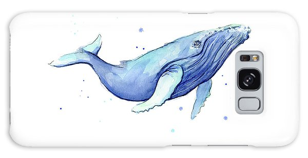 Whale Watercolor Humpback Galaxy Case