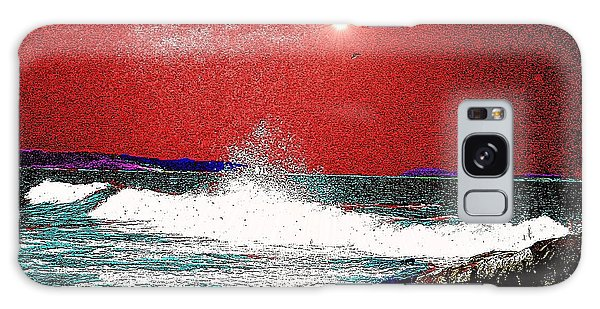 Whaleback At Peaks Island Maine Galaxy Case