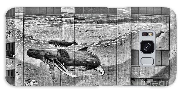 Whales Mural Building Penn Galaxy Case
