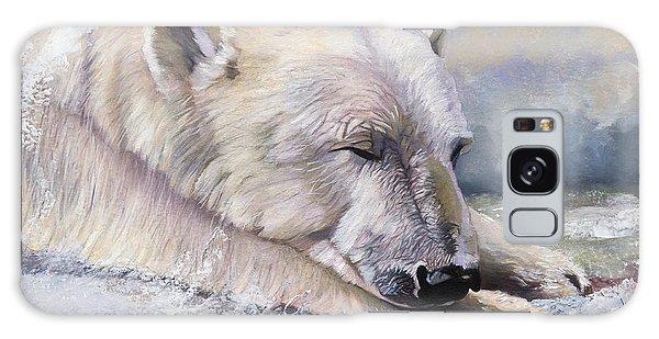 What Do Polar Bears Dream Of Galaxy Case by J W Baker