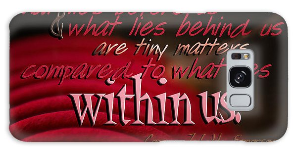 What Lies Within Us Galaxy Case
