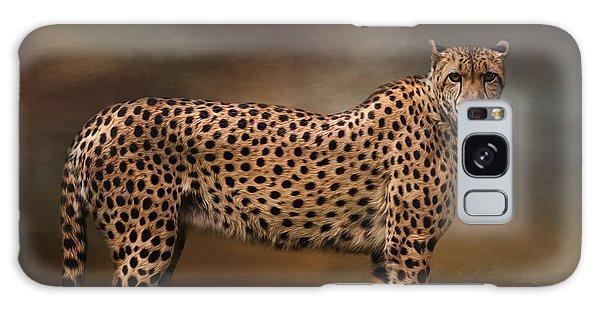 What You Imagine - Cheetah Art Galaxy Case
