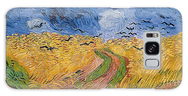 Wheatfield With Crows Galaxy Case