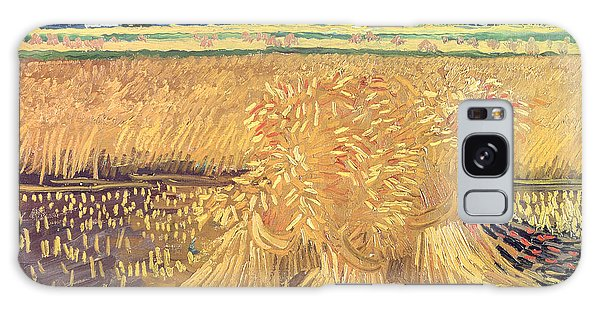 Field Galaxy Case - Wheatfield With Sheaves by Vincent van Gogh