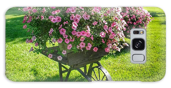 2004 - Wheel Barrow Full Of Flowers Galaxy Case