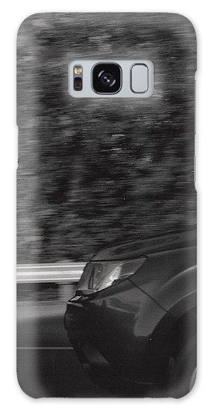 Wheel Blur Photograph Galaxy Case