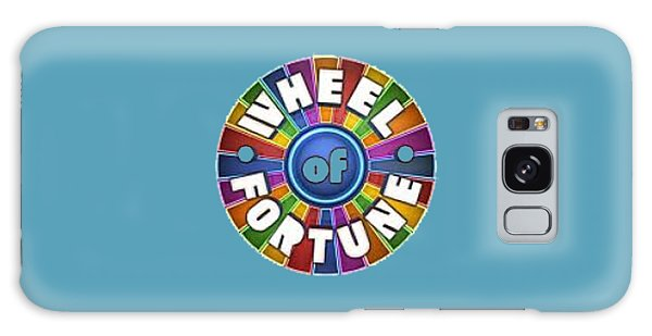 Wheel Of Fortune T-shirt Galaxy Case