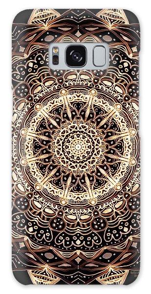 Wheel Of Life Mandala Galaxy Case