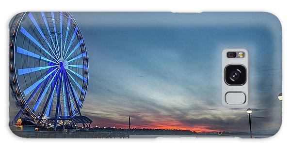Wheel On The Pier Galaxy Case