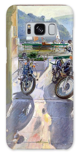 Motor Yacht Galaxy Case - Wheels And Sails by Timothy Easton