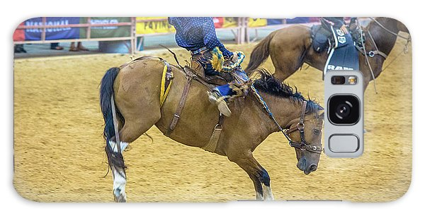 Prca Galaxy Case - When A Horse Tries Hard  by Rene Triay Photography