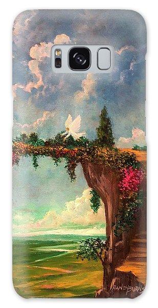 When Angels Garden In Heaven Galaxy Case