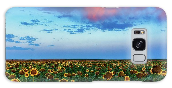 Galaxy Case featuring the photograph When Clouds Dance by John De Bord