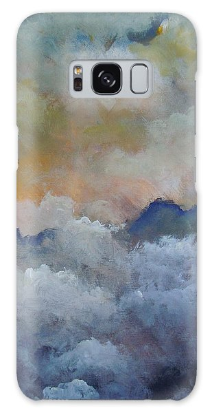 When I Consider Your Heavens Psalm 8 Galaxy Case by Dan Whittemore
