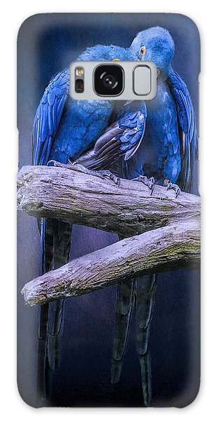 When I'm Feeling Blue Galaxy Case by Brian Tarr