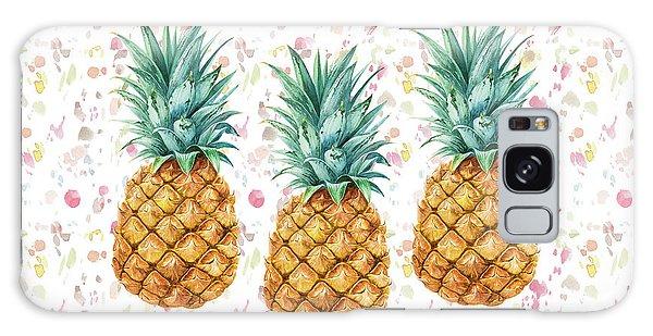 When Life Gives You Pineapple Make A Pina Colada Galaxy Case