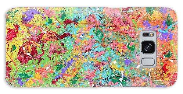 When Pollock Was Happy Galaxy Case
