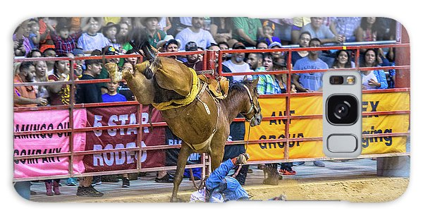 Prca Galaxy Case - When Riding A Bucking Horse Turns Into Pain by Rene Triay Photography