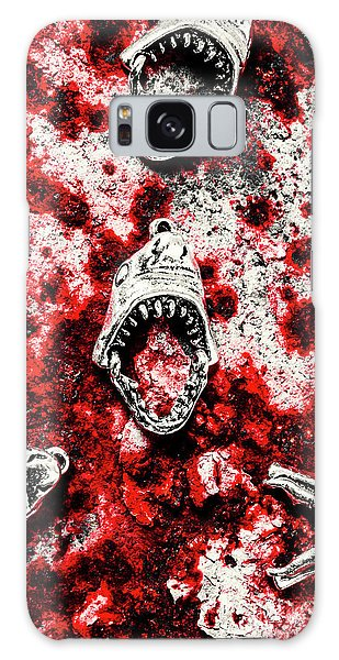 Zombies Galaxy Case - When Sharks Attack  by Jorgo Photography - Wall Art Gallery