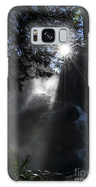 When Sunlight And Water Spray Meet 05 Galaxy Case