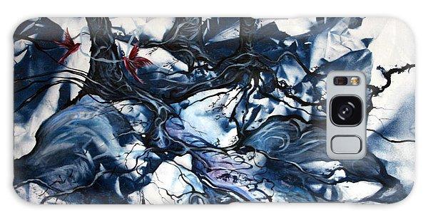 When The Birds Return Galaxy Case by Jan VonBokel