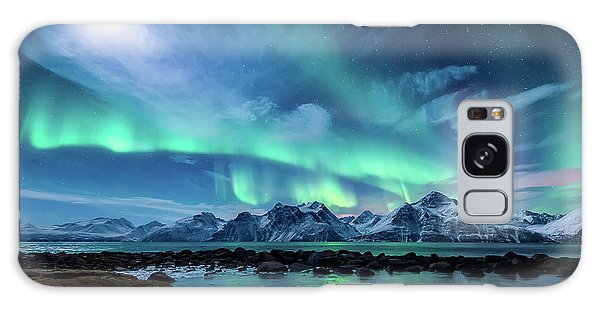 Landscape Galaxy Case - When The Moon Shines by Tor-Ivar Naess