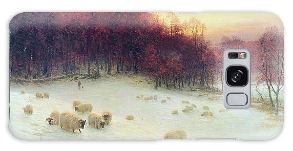 Sheep Galaxy Case - When The West With Evening Glows by Joseph Farquharson