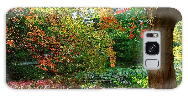 Where Autumn Lingers  Galaxy Case