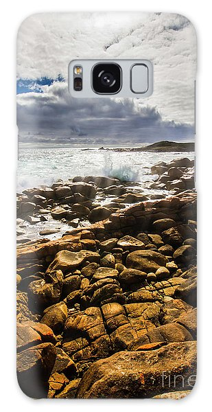 West Bay Galaxy Case - Where Distant Waves Break by Jorgo Photography - Wall Art Gallery