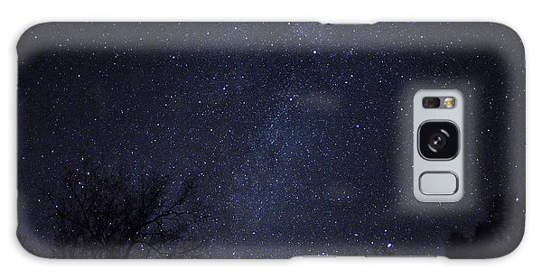 Where The Wind And The Coyotes Howl Galaxy Case