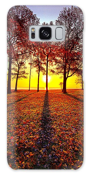 Galaxy Case featuring the photograph Where You Have Been Is Part Of Your Story by Phil Koch