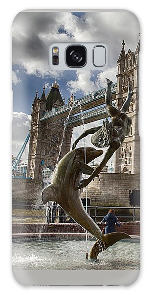 Whimsy At Tower Bridge Galaxy Case