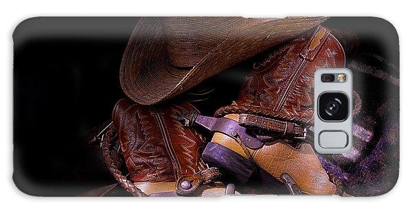 Whip It Cowboy Galaxy Case