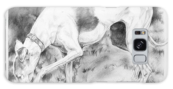 Sighthound Galaxy Case - Whippet Searching by Derrick Higgins