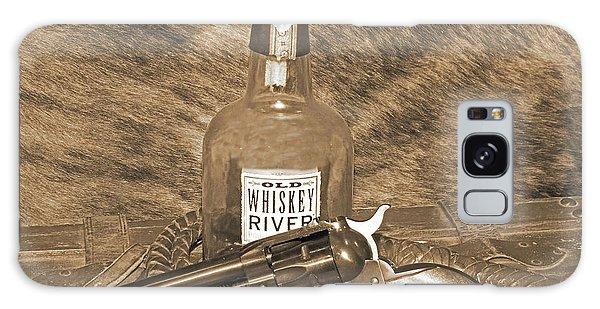 Whiskey And A Gun Galaxy Case
