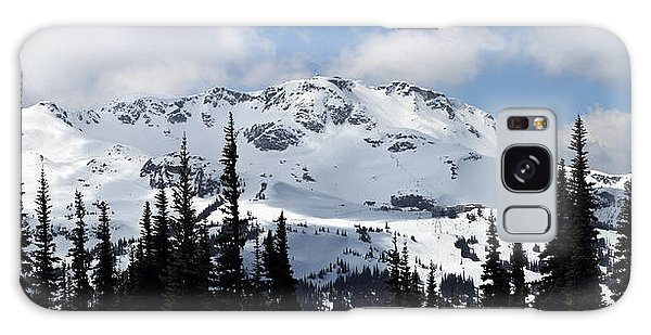 Whistler Mountain Peak View From Blackcomb Galaxy Case