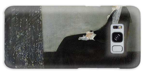 Woman Galaxy Case - Whistlers Mother by James Abbott McNeill Whistler